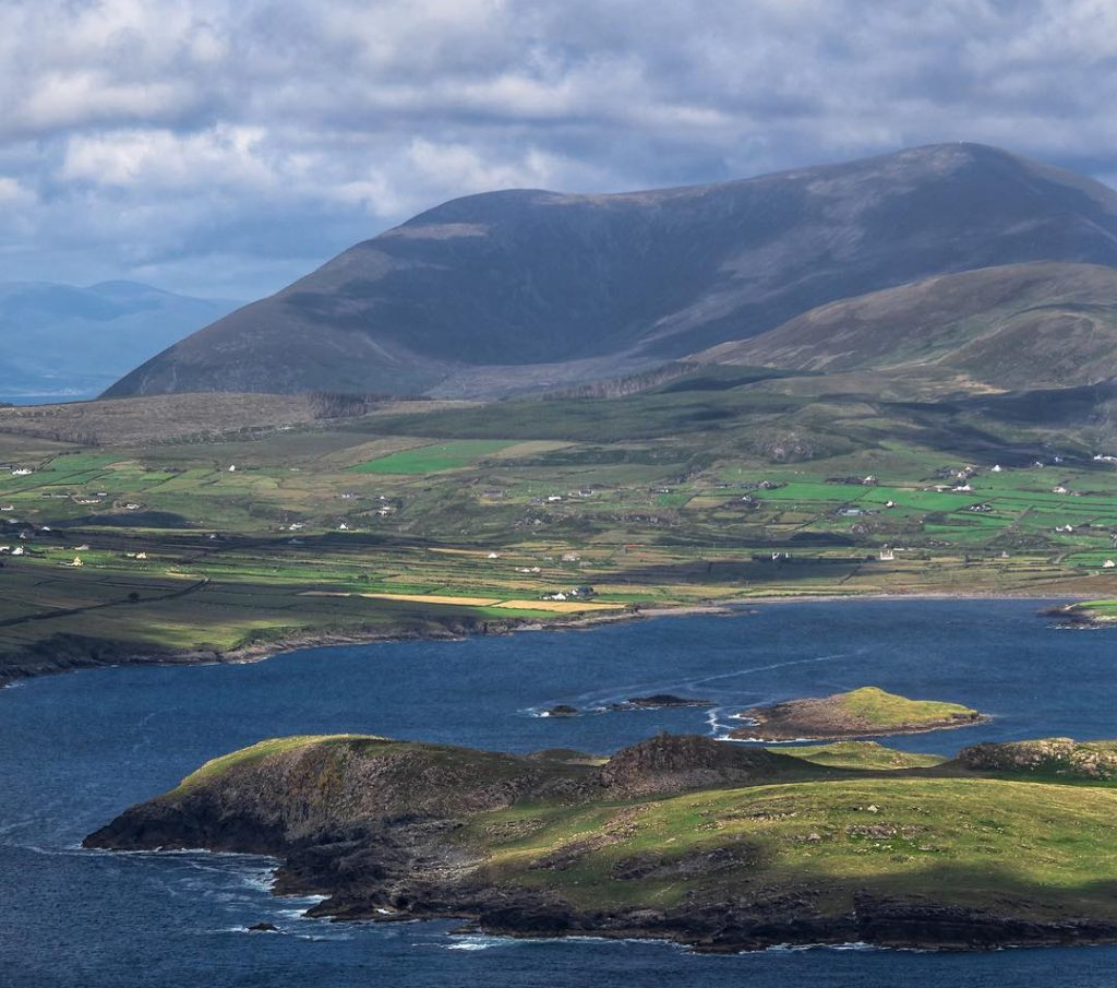 The Geokaun Mountains is one of the top things to do and see on Valentia Island.