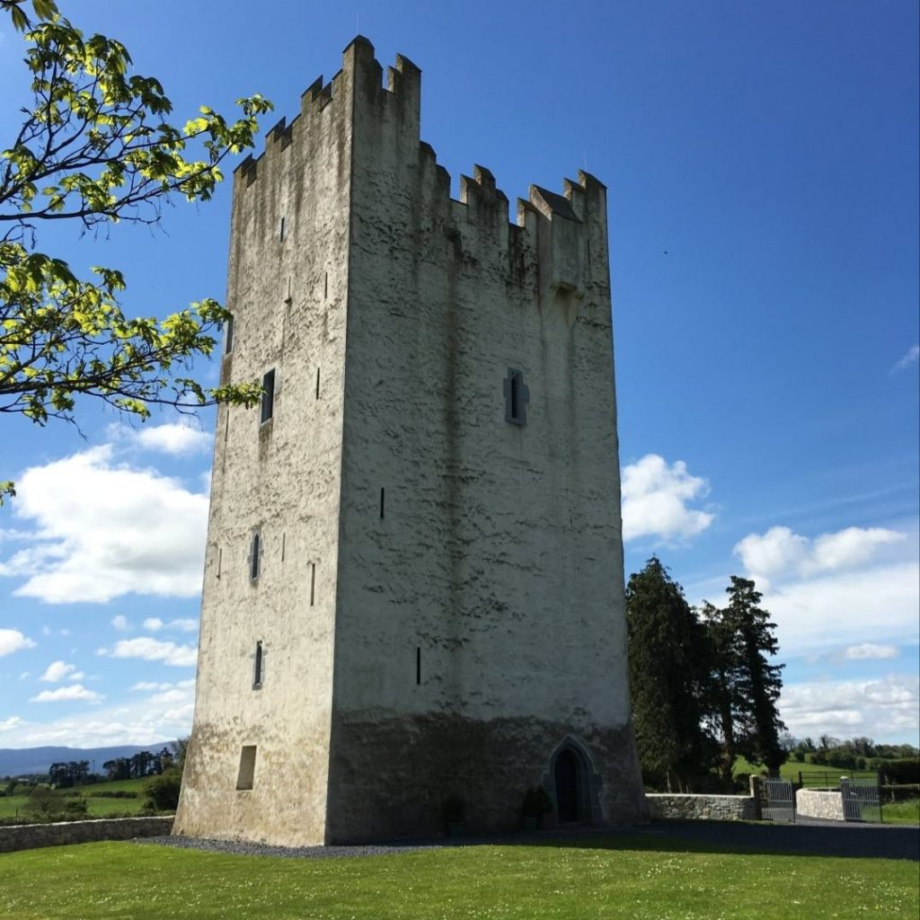 Grantstown Castle in County Tipperary is up there in the top two castles for rent in Ireland