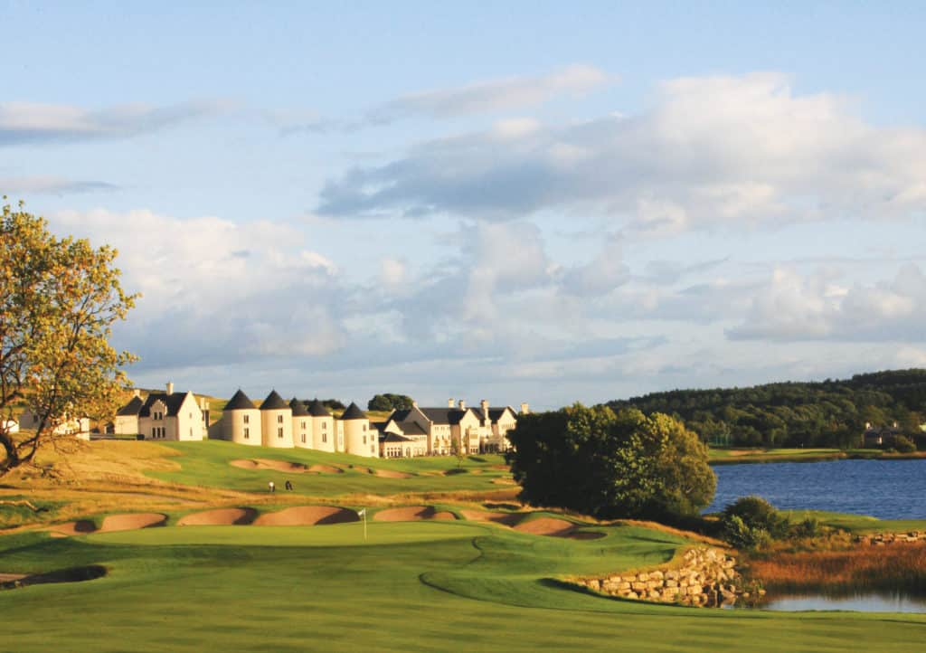 Embrace the Autumnal season with the well-known Collop Walk around the Lough Erne Resort.