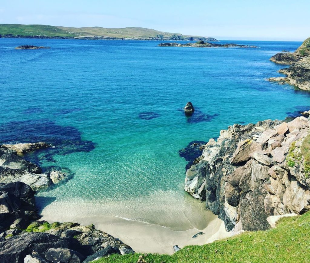 Bofin Harbour in Inishbofin is a great place to go scuba or snorkelling.