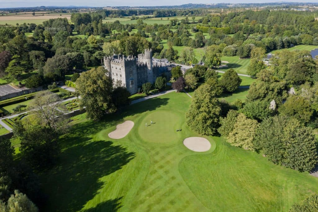 Kilkea Castle is another of our top picks for best castles for weddings in Ireland.