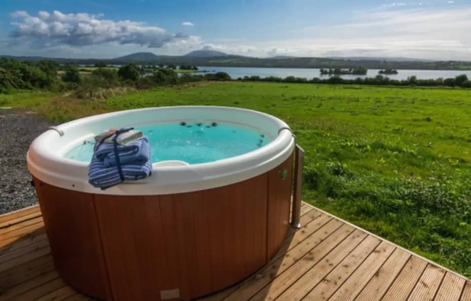 Killaloe Luxury Pods are such a relaxing getaway.