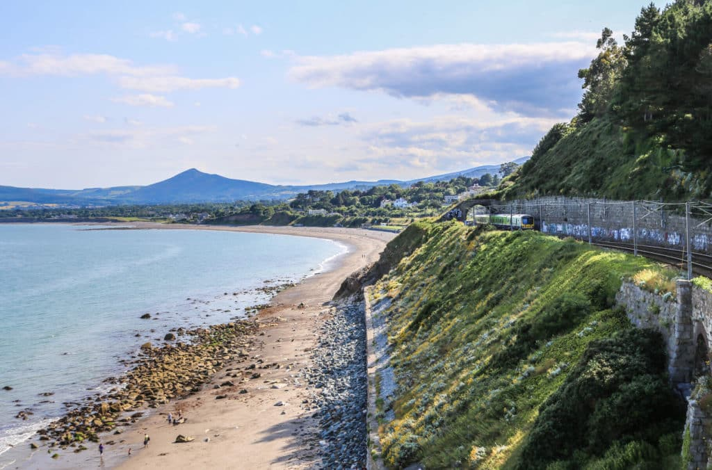 Killiney Beach is a picturesque paddling experience.
