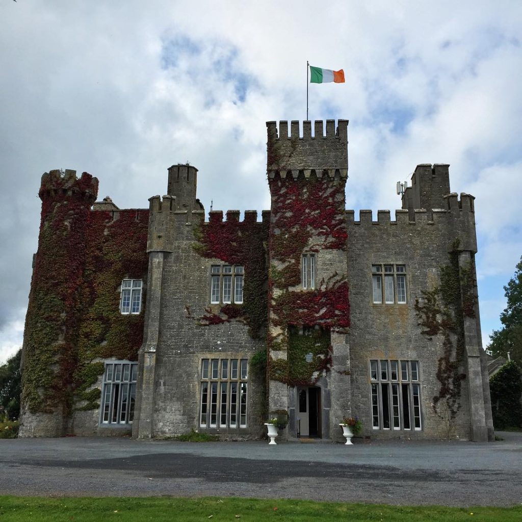 Check out Lisheen Castle in County Tipperary