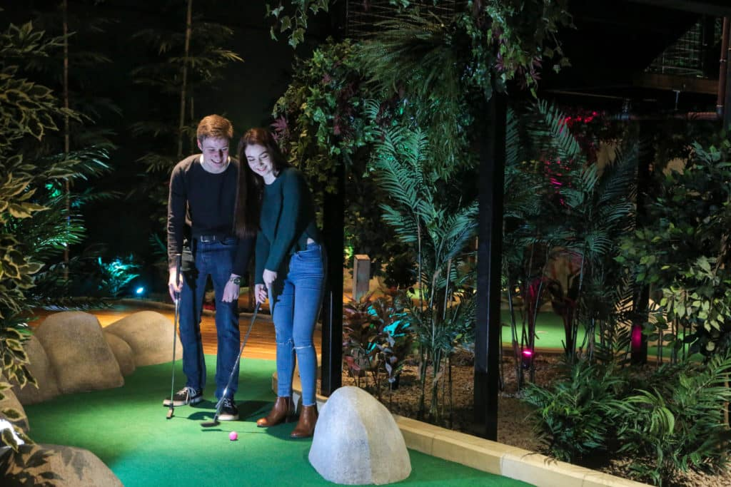 Another of the top best places for crazy golf in Belfast is The Lost City Adventure Golf.