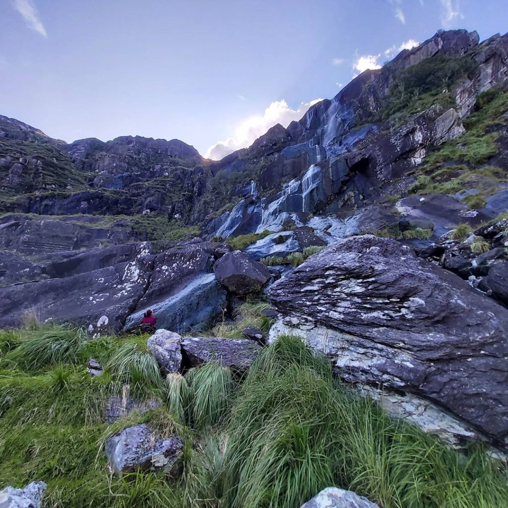 Mares Tail Waterfall is a must.