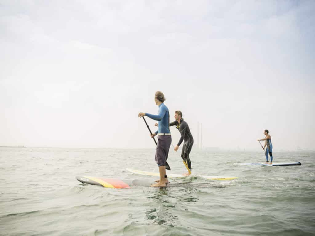 Looking another of the best paddleboarding spots around Dublin, check out Scotsman's Bay.