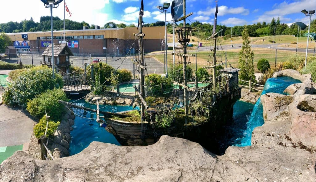 Pirates Adventure Golf is one of the best places for crazy golf in Belfast.