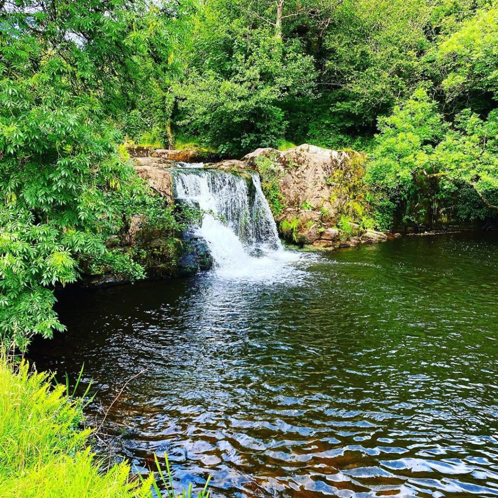 One of the best waterfalls in Cork and Kerry is Poulanassy Waterfall.