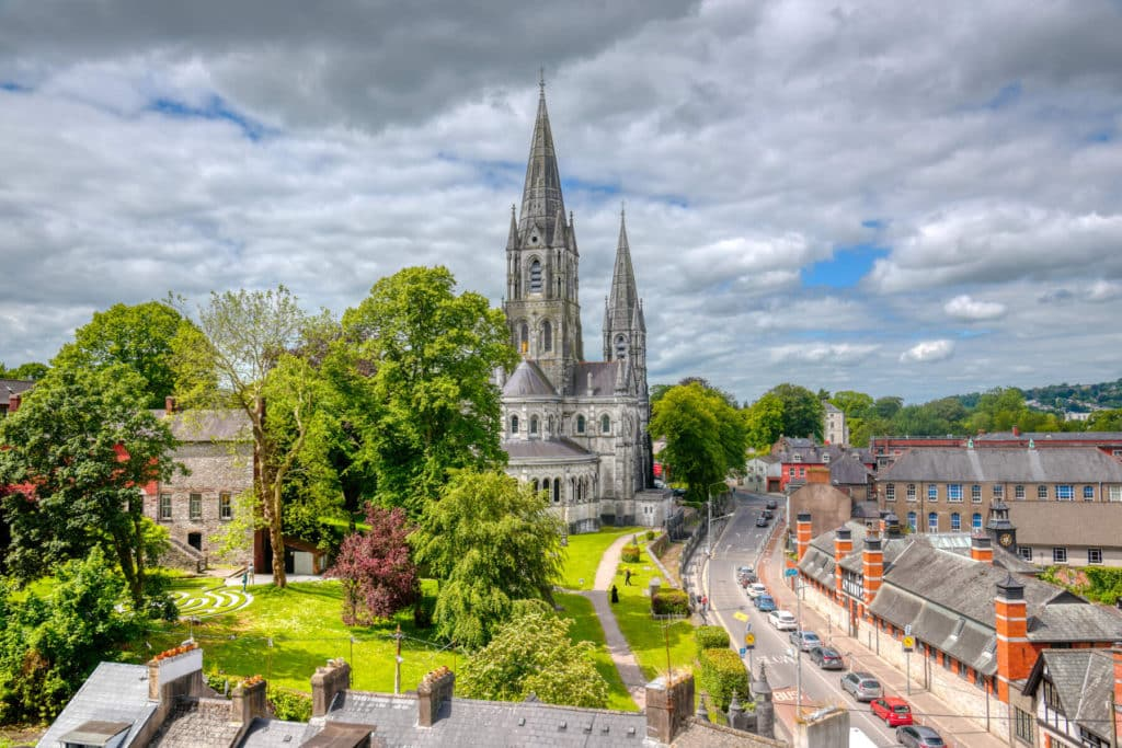 One of the most breathtakingly beautiful buildings in Ireland is St Fin Barres Cathedral in Cork.