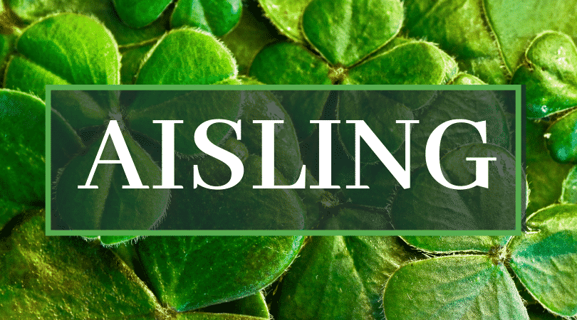Aisling is a name with many pronunciations.