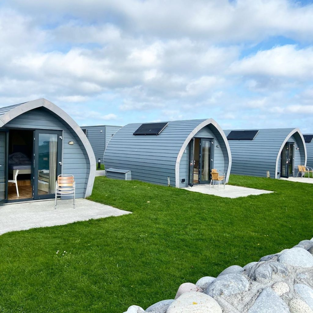 Aran Camping and Glamping is another of the best to lay your head.