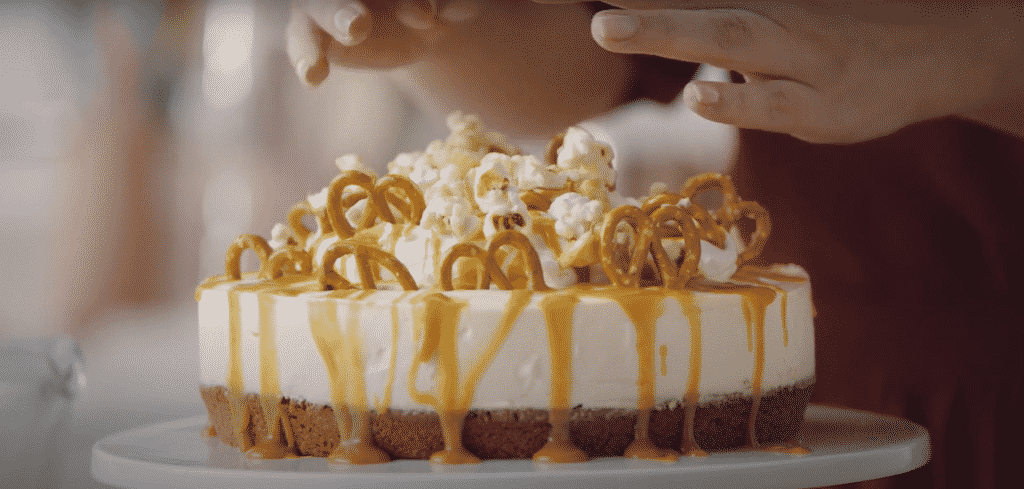 Baileys cheesecake is one of the best Irish desserts.