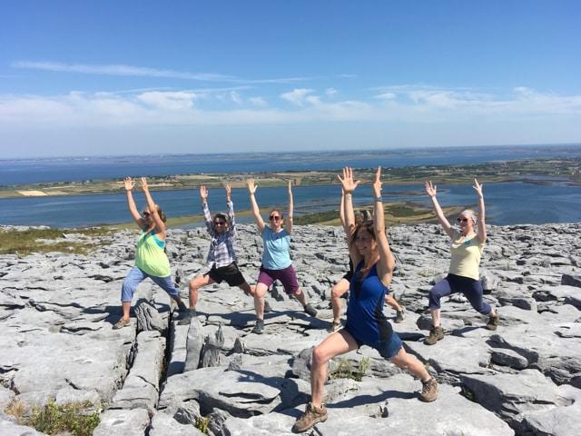 Another of the top yoga retreats Ireland is the Burren Yoga Retreat.