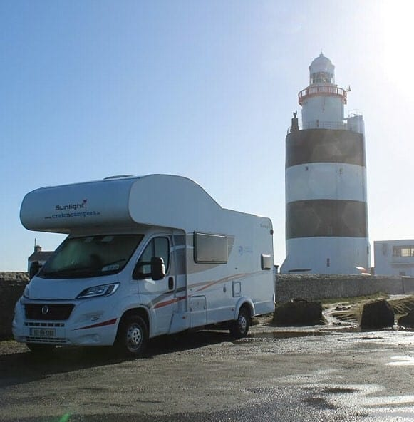 Craic n Campers are a great option for comfort seekers.