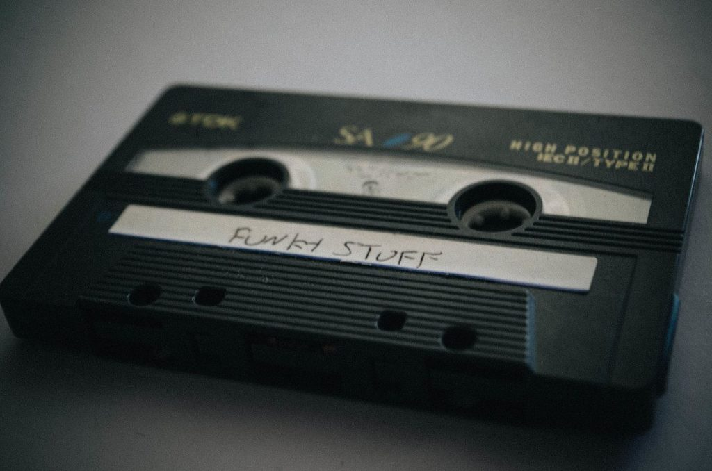 Making mixed tapes is one of those memories all Irish 80s kids will have.