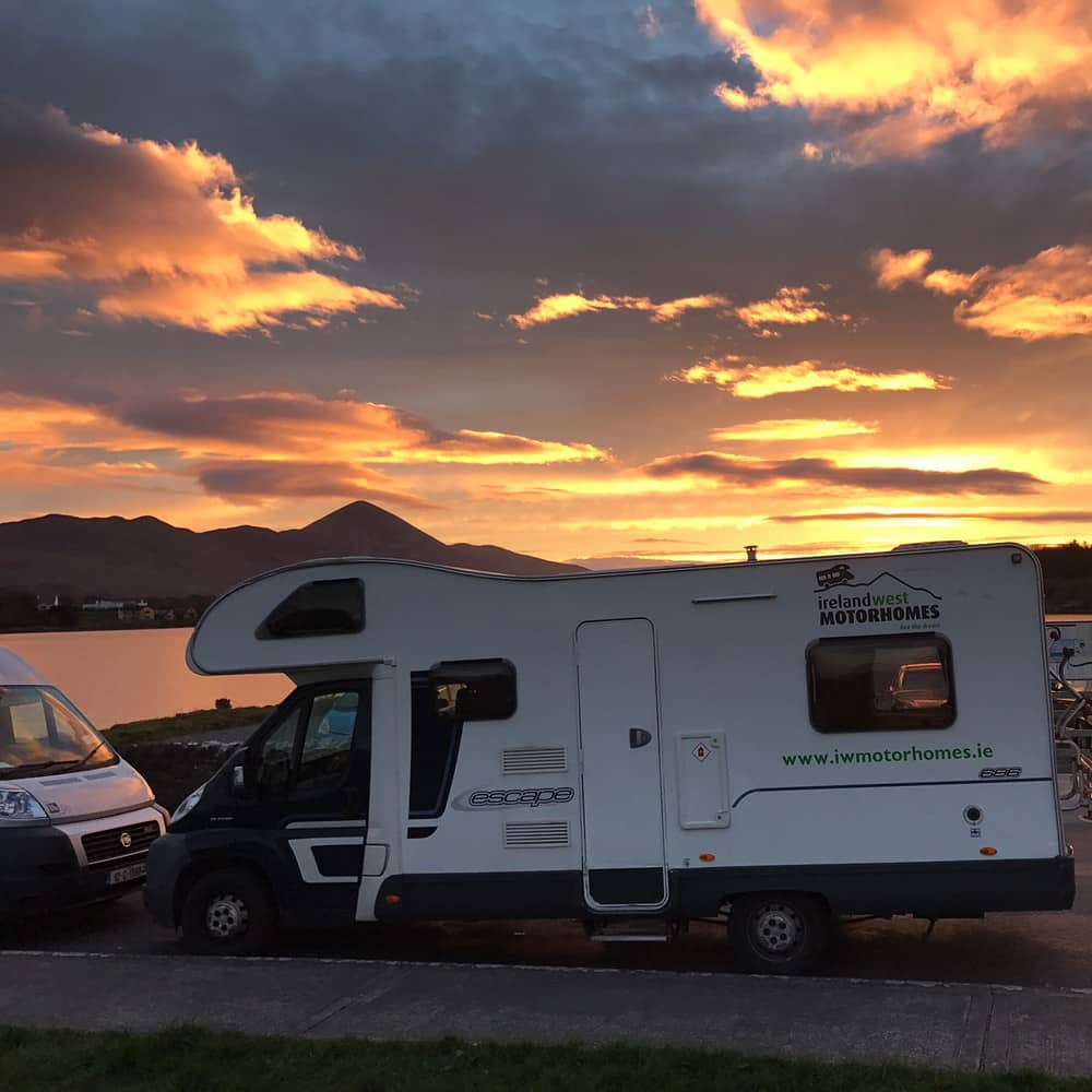 Next up on our list of campervan hire in Ireland is Ireland West Motorhomes.