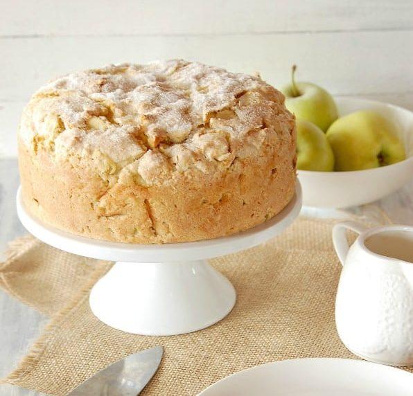 Irish apple cake is another of the top best Irish desserts.
