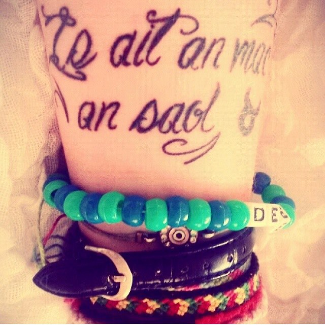 Is ait an mac an saol is first on our list of Irish sayings that would make great tattoos.