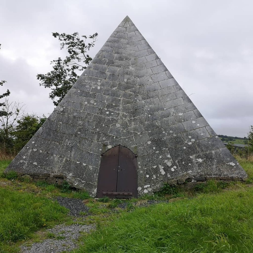 Ireland or Egypt? Kinnitty Pyramid in County Offaly is certainly unique.