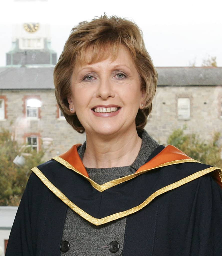Mary McAleese was the second female president of Ireland.