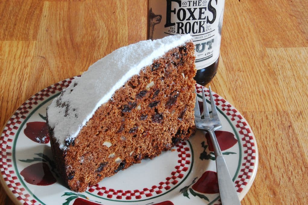 Guinness cake is another our our favourite sweet treats in Ireland.