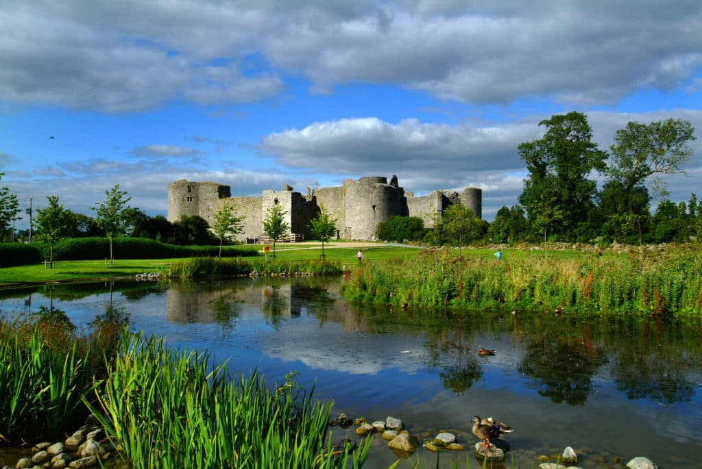 Roscommon Castle is a visit to impressive ruins.