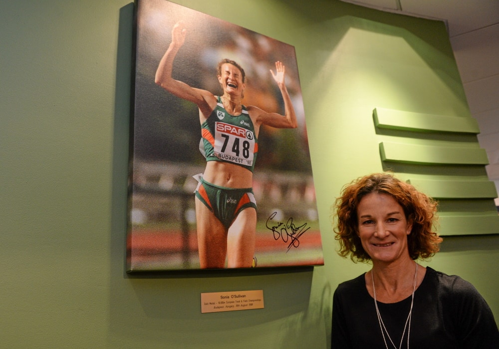 Sonia O'Sullivan is one of most famous Irish women of all time.