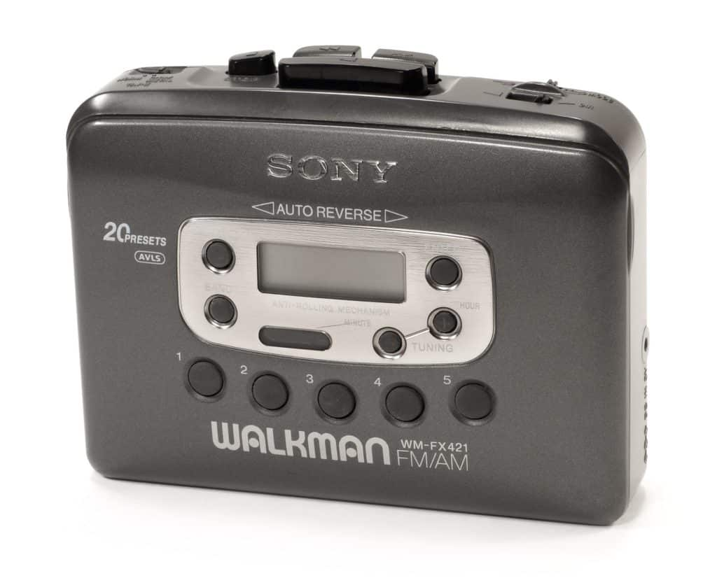 You were officially cool when you got your first Walkman.