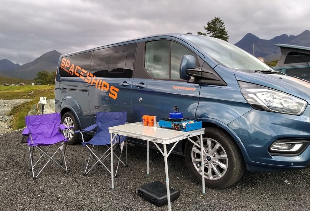 For great campervan hire in Ireland, try Spaceships.