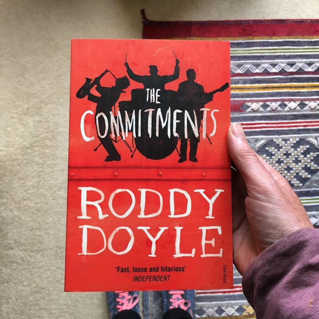 Roddy Doyle's the Commitments is another of the top best Irish novels you need to read.
