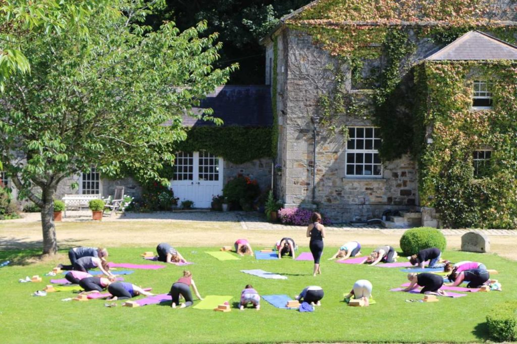 Another of the top yoga retreats Ireland is The Courtyard Yoga Retreat.