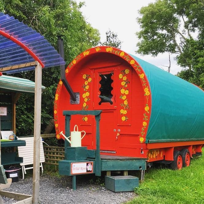 Another of the incredible and unique glamping sites in Ireland is Wildflower Glamping.