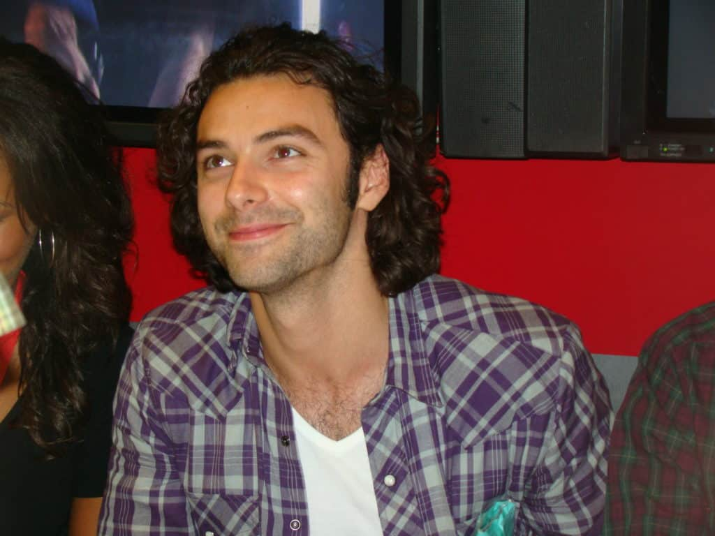 One of the celebrities you probably didn't know are Irish is Aidan Turner.