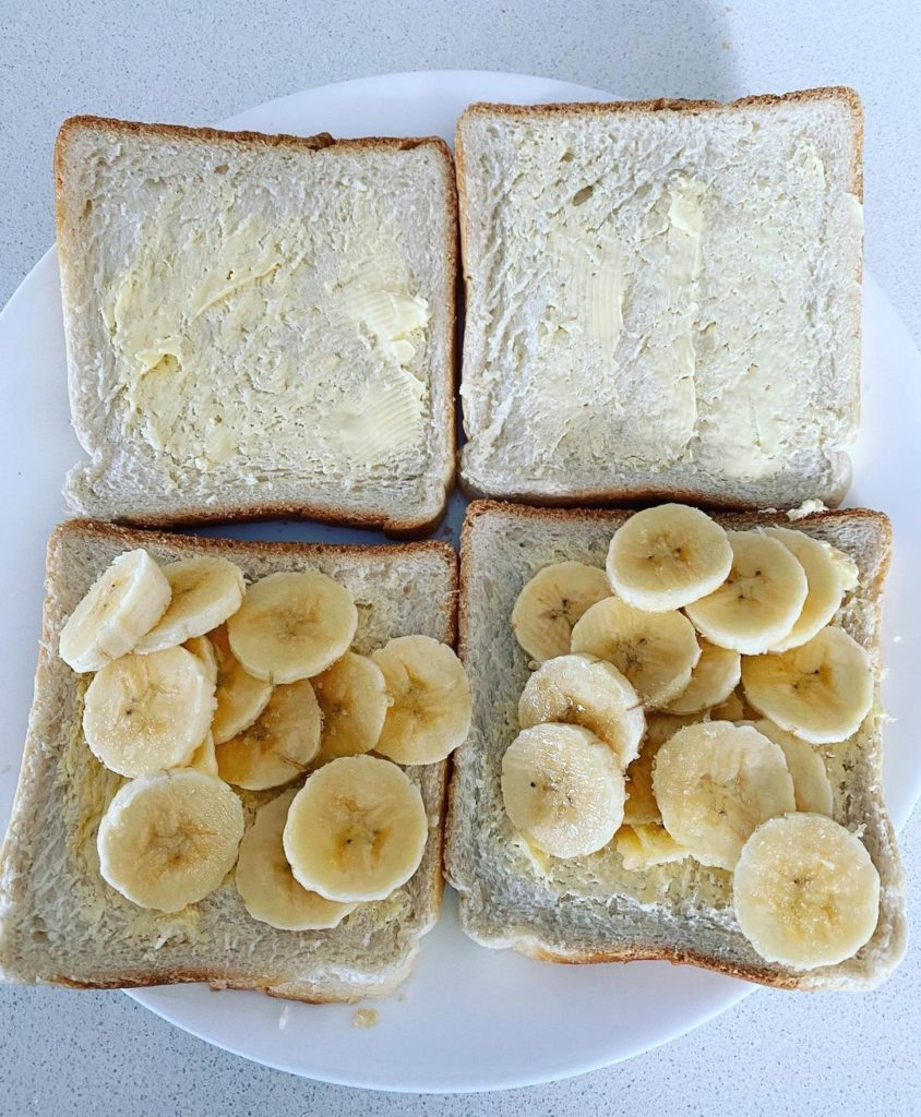 The Irish love banana sandwiches.