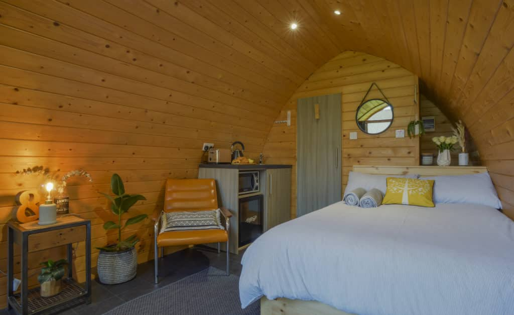 The Pod at Bancran School is one of the most unique Airbnbs in Northern Ireland.