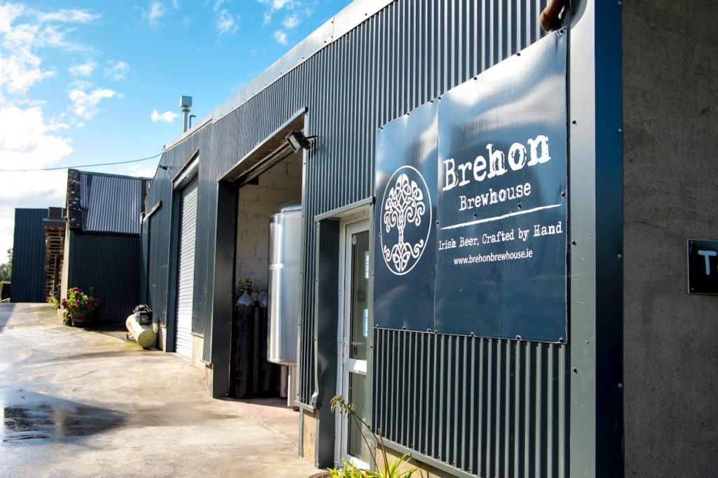 Brehon Brewery is a small brewery  located in the heart of the county.