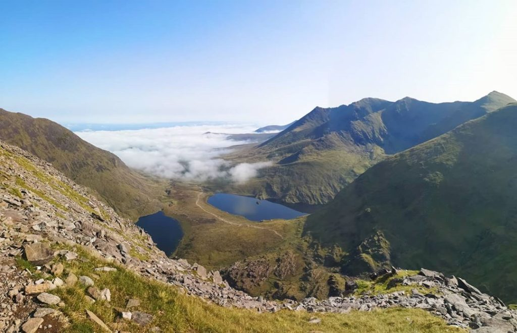 Topping our list of best hikes in Ireland that are straight out of a fairy tale is Carrauntoohil in County Kerry.