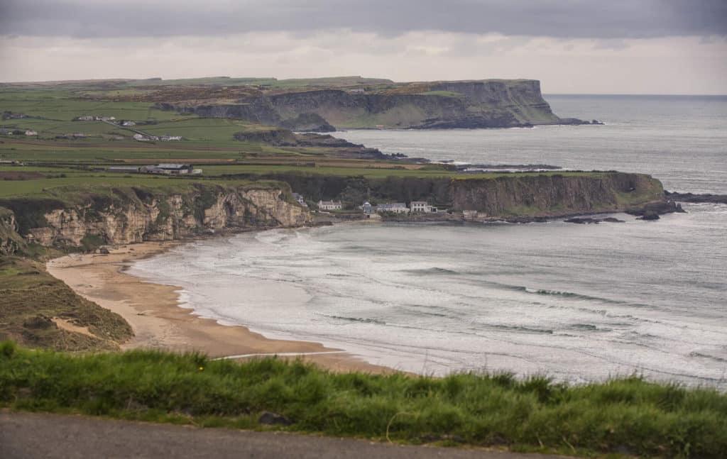 The Causeway Coastal Way boasts incredible coastal views.