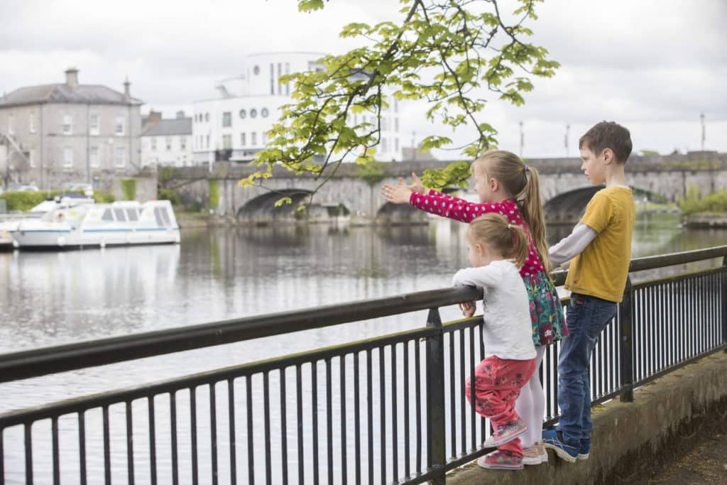 The River Shannon touches on many counties, including Westmeath.