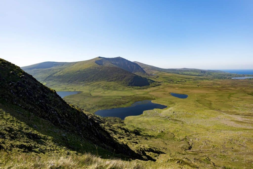 Next up on our list the best of hikes in Ireland that are straight out of a fairy tale is Mount Brandon.