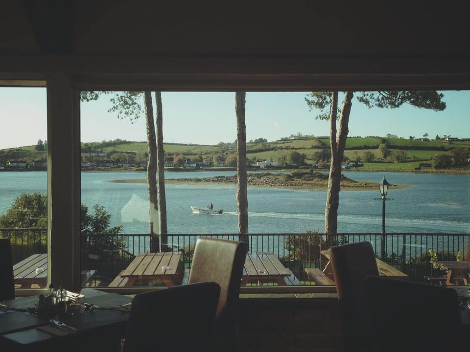 Daft Eddy's is another of the top restaurants with a view in Northern Ireland.