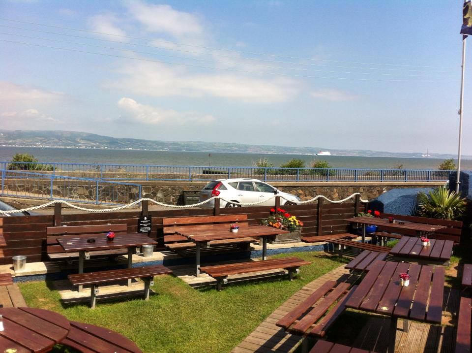 The Dirty Duck Alehouse is another of the top restaurants with a view in Northern Ireland.