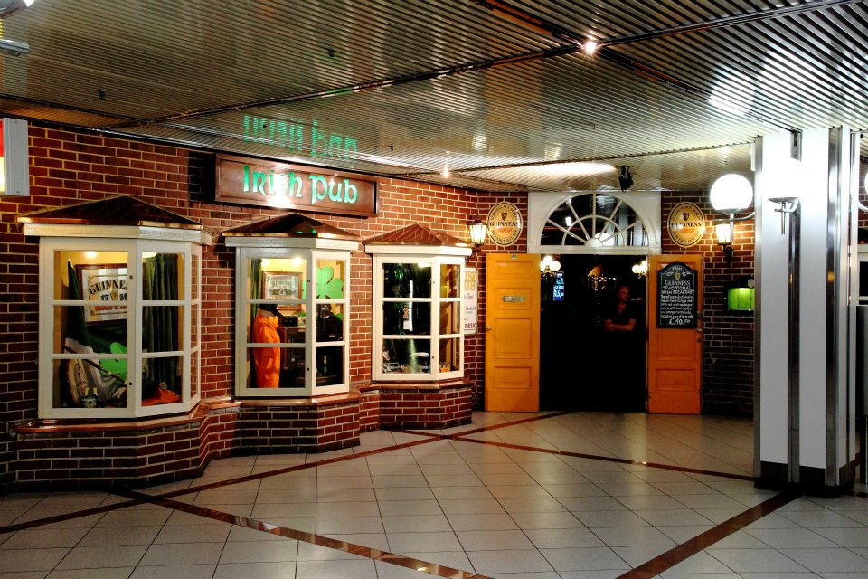 You have to check out the Irish Pub inside the Europa Center.