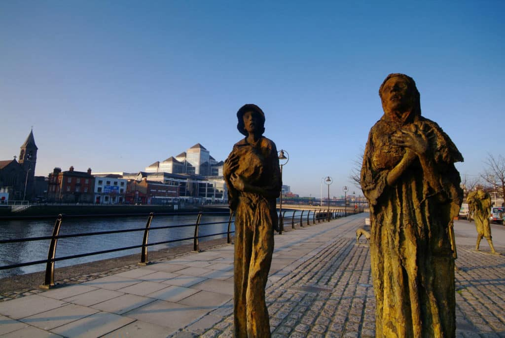 The Irish population was decimated, another of the top facts about the Irish famine.