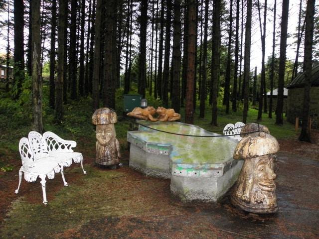 Garden of the Celtic Saints is a must-visit.