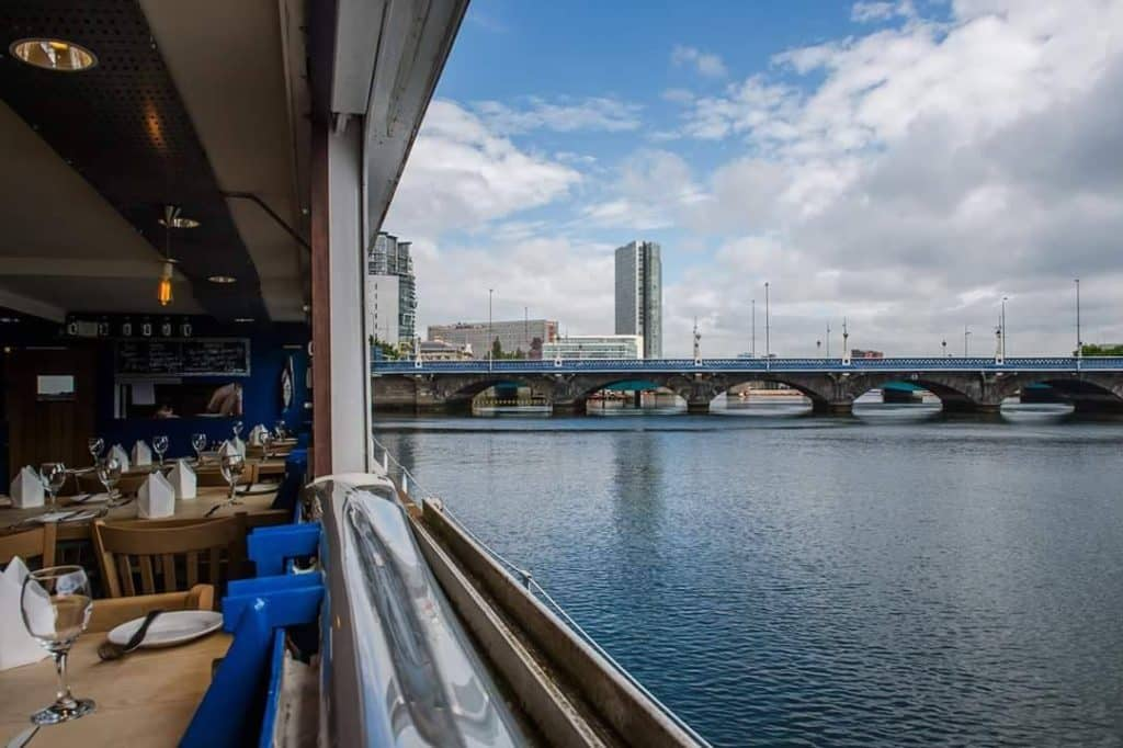 Looking another of the top restaurants with a view in Northern Ireland? Check out Holohan's at the barge.