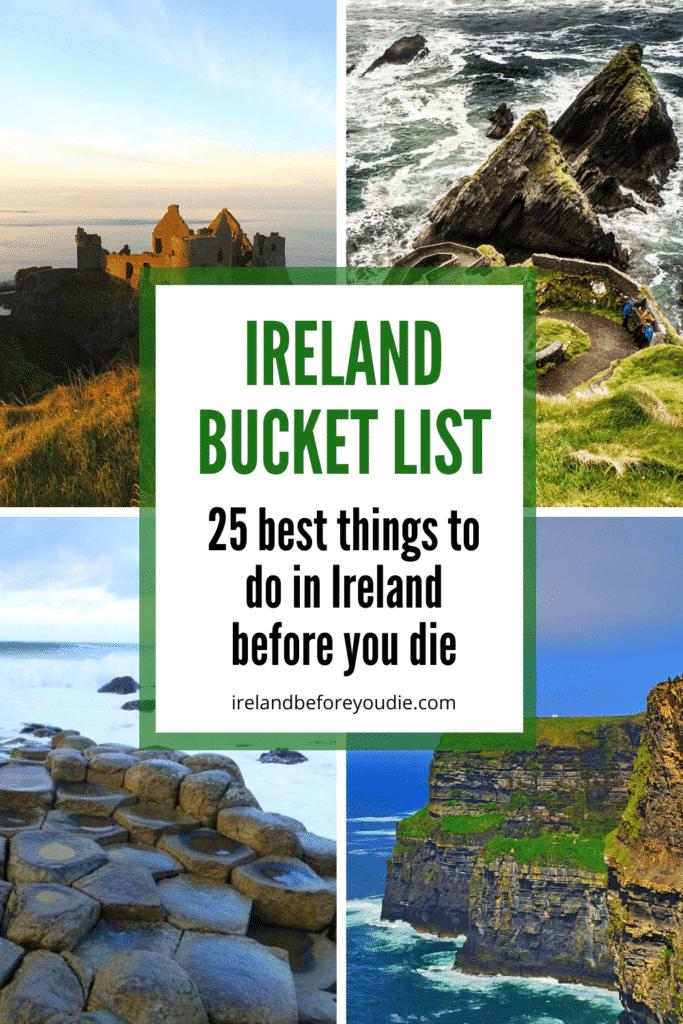 Irish Bucket List 25 Best Things To Do In Ireland Before You Die