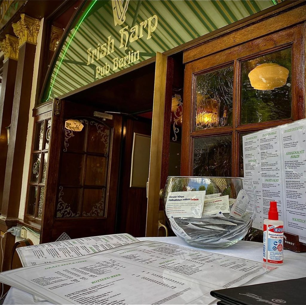 Number one on our list of best Irish pubs in Berlin is The Harp.