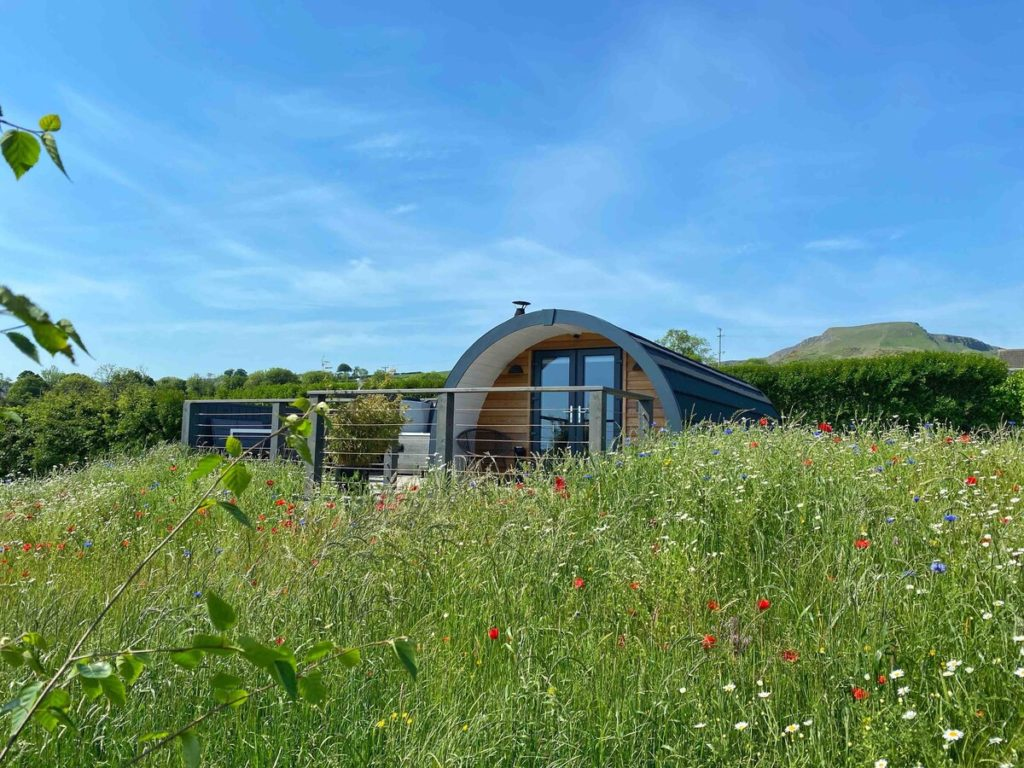 Knockdhu Luxury Glamping Pod is perfect for a family retreat.